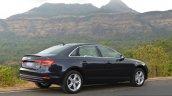 2017 Audi A4 35 TDI rear three quarter First Drive Review