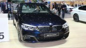 2017 BMW M550i front quarter at the 2017 Geneva Motor Show Live
