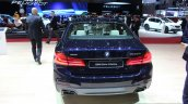 2017 BMW M550i rear at the 2017 Geneva Motor Show Live