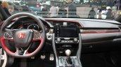2017 Honda Civic Type-R dashboard at the Geneva Motor Show