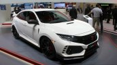 2017 Honda Civic Type-R front three quarter at the Geneva Motor Show