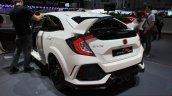 2017 Honda Civic Type-R rear quarter at the Geneva Motor Show