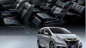 2017 Honda Odyssey (facelift) cabin