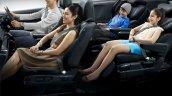 2017 Honda Odyssey (facelift) seats
