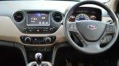 2017 Hyundai Grand i10 1.2 Diesel (facelift) driver area Review