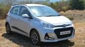 2017 Hyundai Grand i10 1.2 Diesel (facelift) front quarter Review