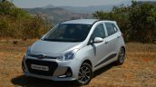 2017 Hyundai Grand i10 1.2 Diesel (facelift) front quarter far Review