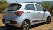 2017 Hyundai Grand i10 1.2 Diesel (facelift) rear three quarter close Review
