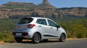 2017 Hyundai Grand i10 1.2 Diesel (facelift) rear three quarter far Review