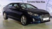 2017 Hyundai Sonata (facelift) front three quarters launch event