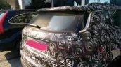 2017 Jeep Compass rear fascia spy shot