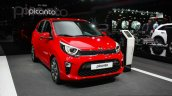 2017 Kia Picanto front quarter at the Geneva Motor Show Live