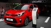 2017 Kia Picanto front three quarter at the Geneva Motor Show Live