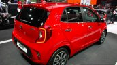2017 Kia Picanto rear quarter at the Geneva Motor Show Live