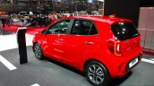 2017 Kia Picanto rear three quarter at the Geneva Motor Show Live