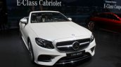 2017 Mercedes E-Class Cabriolet front at the 2017 Geneva Motor Show