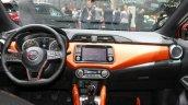 2017 Nissan Micra dashboard Geneva Motor Show Live