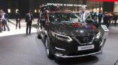 2017 Nissan Qashqai front at the 2017 Geneva Motor Show