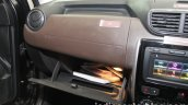 2017 Nissan Terrano (facelift) glove box launched