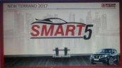 2017 Nissan Terrano (facelift) presentation