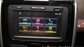 2017 Nissan Terrano (facelift) touchscreen system launched