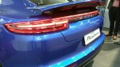 2017 Porsche Panamera rear fascia