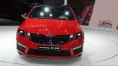 2017 Skoda Octavia RS 245 front at the 2017 Geneva Motor Show