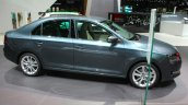 2017 Skoda Rapid (Facelift) side at the 2017 Geneva Motor Show Live