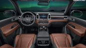 2017 Ssangyong Rexton (Mahindra XUV700) interior unveiled