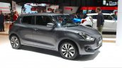 2017 Suzuki Swift (2017 Maruti Swift) front three quarter grey Geneva Live