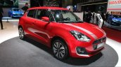 2017 Suzuki Swift (2017 Maruti Swift) front three quarter right Geneva Live
