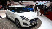 2017 Suzuki Swift SHVS (2017 Maruti Swift) front three quarter Geneva Live