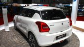 2017 Suzuki Swift SHVS (2017 Maruti Swift) rear quarter Geneva Live
