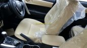2017 Toyota Corolla Altis (facelift) interior spied ahead of launch