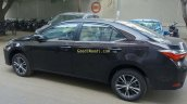 2017 Toyota Corolla Altis (facelift) side spied ahead of launch