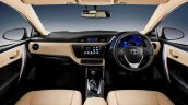 2017 Toyota Corolla (facelift) dashboard