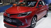 2017 Toyota Yaris sedan (Vios) front quarter showcased at BIMS 2017