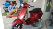 2017 Vespa SXL 150 BSIV at dealership front three quarter