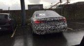 2018 Audi A7 Denmark spy shot