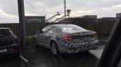 2018 Audi A7 rear three quarters spy shot