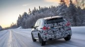 2018 BMW X3 (BMW G01) rear three quarters testing