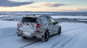 2018 BMW X3 (BMW G01) rear three quarters winter testing