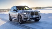 2018 BMW X3 (BMW G01) winter testing North Sweden