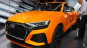 Audi Q8 Sport Concept headlamp at the 2017 Geneva Motor Show Live