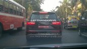 Audi SQ7 TDI (LHD) taillights spied testing in Mumbai