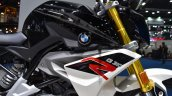 BMW G310R at BIMS 2017 fuel tank