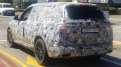 BMW X7 rear three quarters spy shot