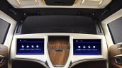 DC Design Lounge for the Toyota Innova Crysta optional entertainment system