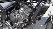 Honda Rebel 250 engine at Osaka Motorcycle Show