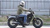 Honda Rebel 250 side at Osaka Motorcycle Show